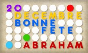 Abraham - 20 Décembre