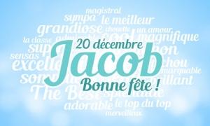 Jacob - 20 décembre