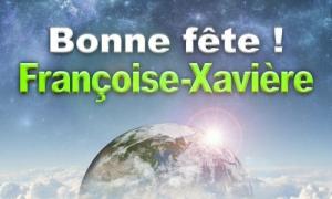 Françoise Xavière - 22 décembre