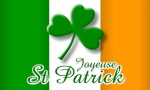 Drapeau de la Saint Patrick