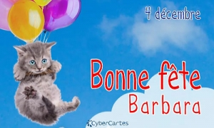 Barbara - 4 décembre