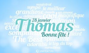 Thomas - 28 janvier