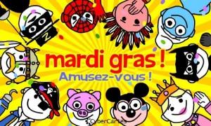 Amusez-vous, c'est Mardi Gras !