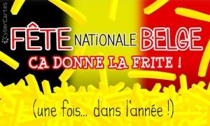 C'est la fête nationale belge !