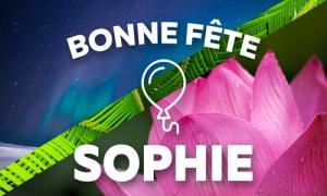 Sophie - 25 mai