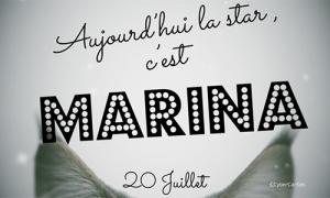 Marina - 20 juillet