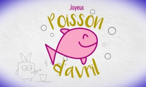 Un dessin surprise pour poisson d'avril