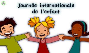 Journée Int. de l'enfant