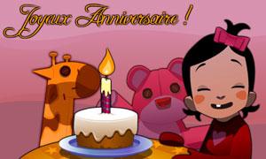 Plein de douceur pour ton anniversaire