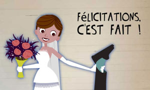 flicitations - Carte De Flicitation Mariage