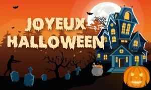 Les monstres fêtent Halloween !