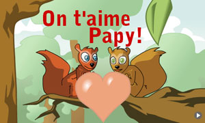 On t'aime Papy