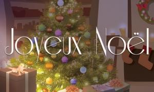La famille, les amis et l'amour pour Noël