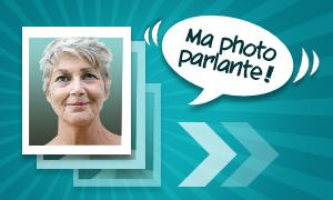 Cartes parlantes avec votre photo